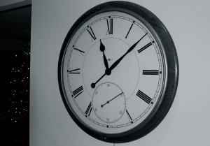 30. We unplugged this clock several years ago.