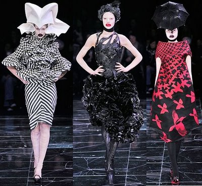 Fashion by Alexander McQueen (Fall-Winter collection, 2009)