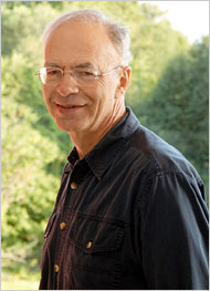 Peter Singer (by Derek Goodwin for the New York Times)